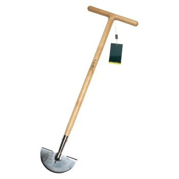 RHS Stainless Steel Half Moon Lawn Edger