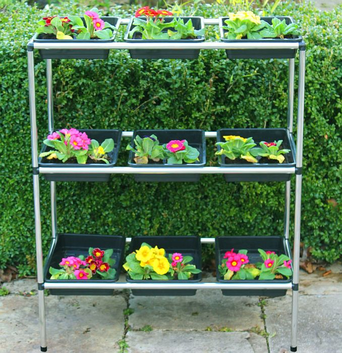 Seed Tray Stand with 9 Trays