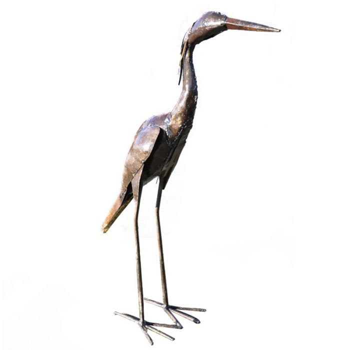 Metal Baby Heron Upright