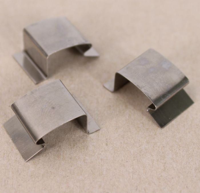 Stainless Steel Sprung Greenhouse Glass Clips