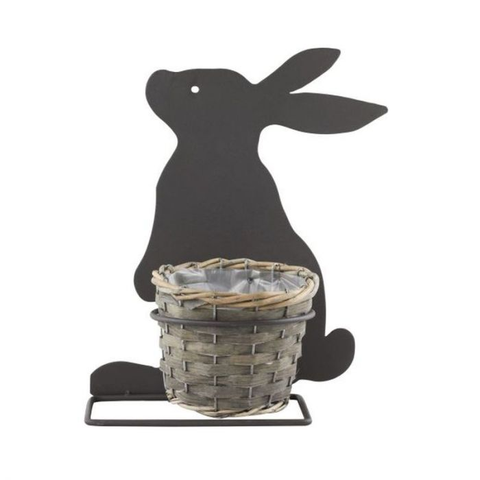 Rabbit Silhouette Planter
