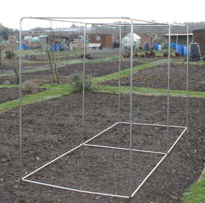 Square Aluminium Hoop Frame (Fruit and Vegetable Hoop Cages)