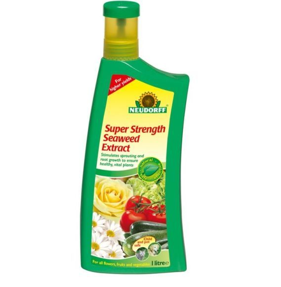 Super strength Liquid Seaweed Plant Food 1 Litre