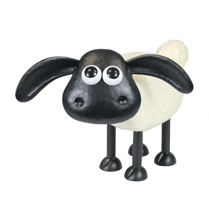 Timmy the Sheep Metal Sculpture