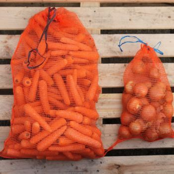 Bagacrop Orange Vegetable Nets